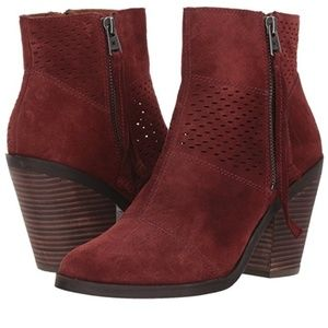 Lucky brand booties - BRAND NEW